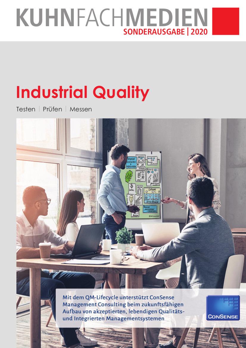 Titelseite »Industrial Quality« Ausgabe 2020